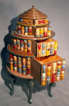 Four Drawer ''Cake'', tramp art dresser furniture  home decorating Home Decor home furnishings